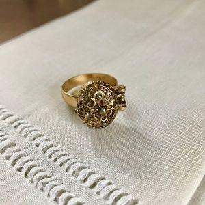 Vintage Gold Poison Ring